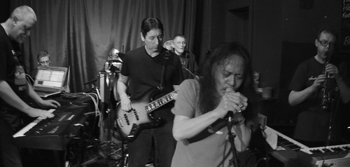 DAMO SUZUKI with ORCHESTRA OF THE UPPER ATMOSPHERE and JUXTAVOICES