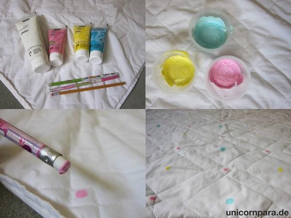 Polka Dot Baby Picnic Blanket