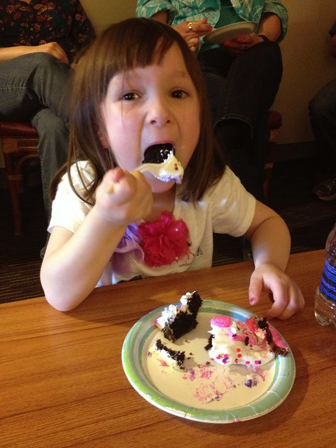 Happy first 4th birthday party, Hannie! #project365
