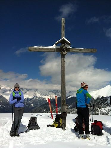 Gipfelkreuz Lutterkopf 2.145 m