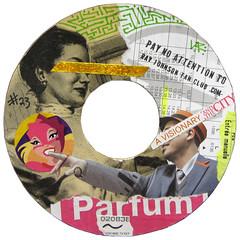 Ray Johnson Fan Club sticker #23