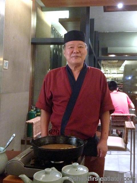 sushi master Mr. Tsumura