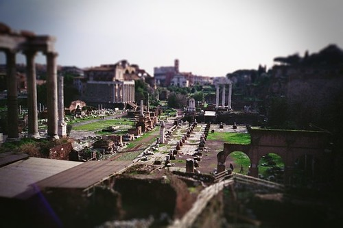 forum romanum-tiltshift