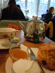 Spot of Tea and Scones...Not in England but in the Netherlands