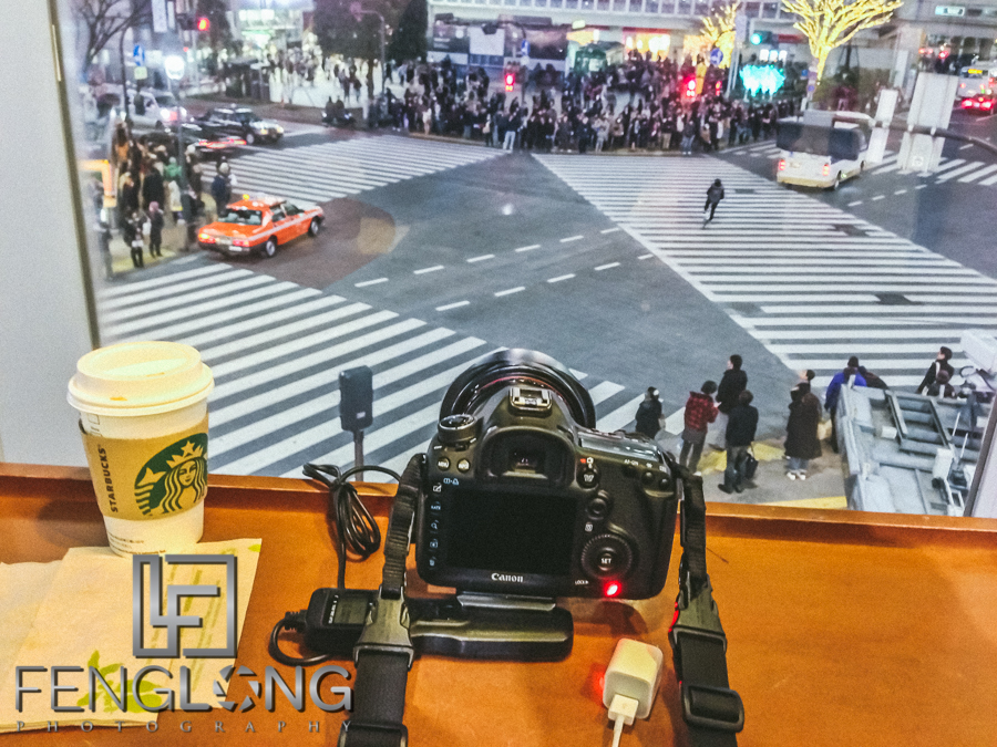Behind the Scenes - Time Lapse from Starbucks Shibuya Crossing | iPhone 5 Photo | Japan Trip 2013