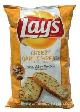 Lay's Do Us a Flavor Finalist Cheesy Garlic Bread Potato Chips