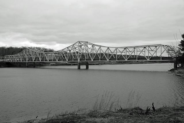 {17/365} Duncan Bridge B&W