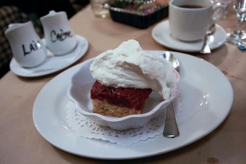 Dessert at Le Lapin Sauté - #LexGoFurther