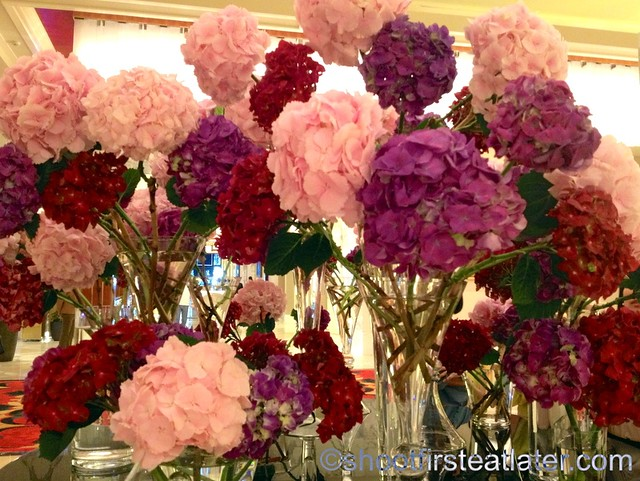 flowers at Solaire