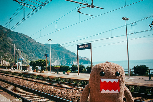 domo at corniglia train station