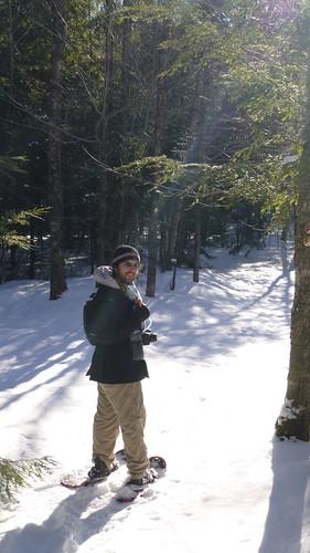2013.02.07 - snowshoe hike