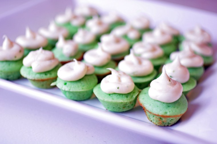Mini Lime Cupcakes 1