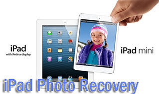 iPad photo recovery without backup