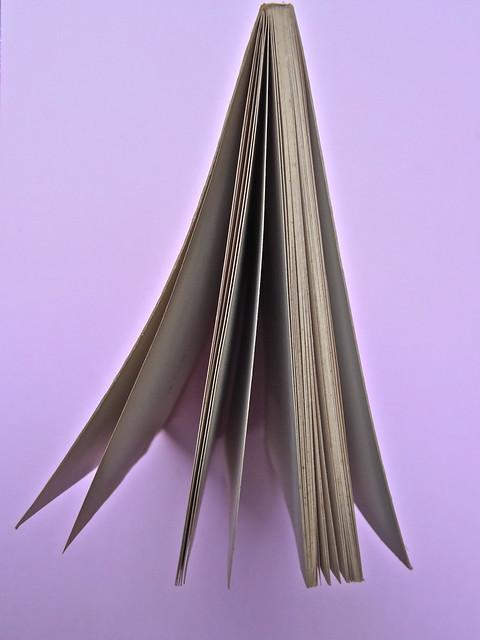Roland Barthes, Il grado zero della scrittura. Lerici editori 1960, [progetto grafico di Ilio Negri?]. Taglio superiore (part.), 1