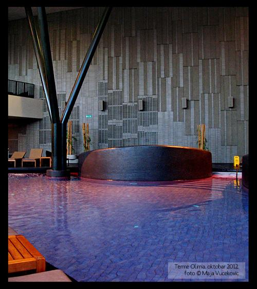 Wellness Orhidelia inside pool