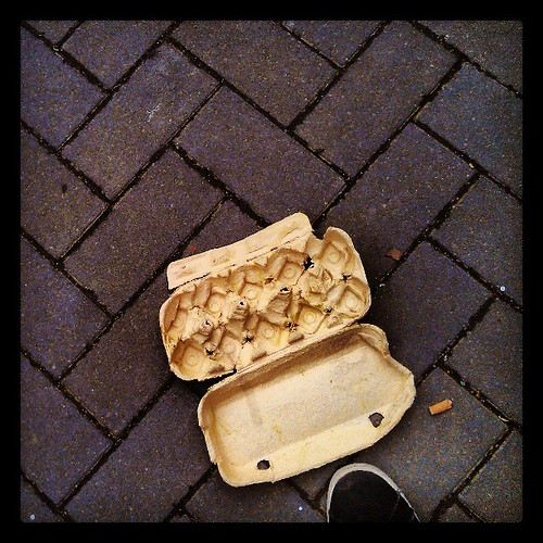 omelette king size #pavements #brussels