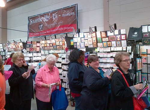Allentown Rubber Stamp and Paper Arts Festival, April 13