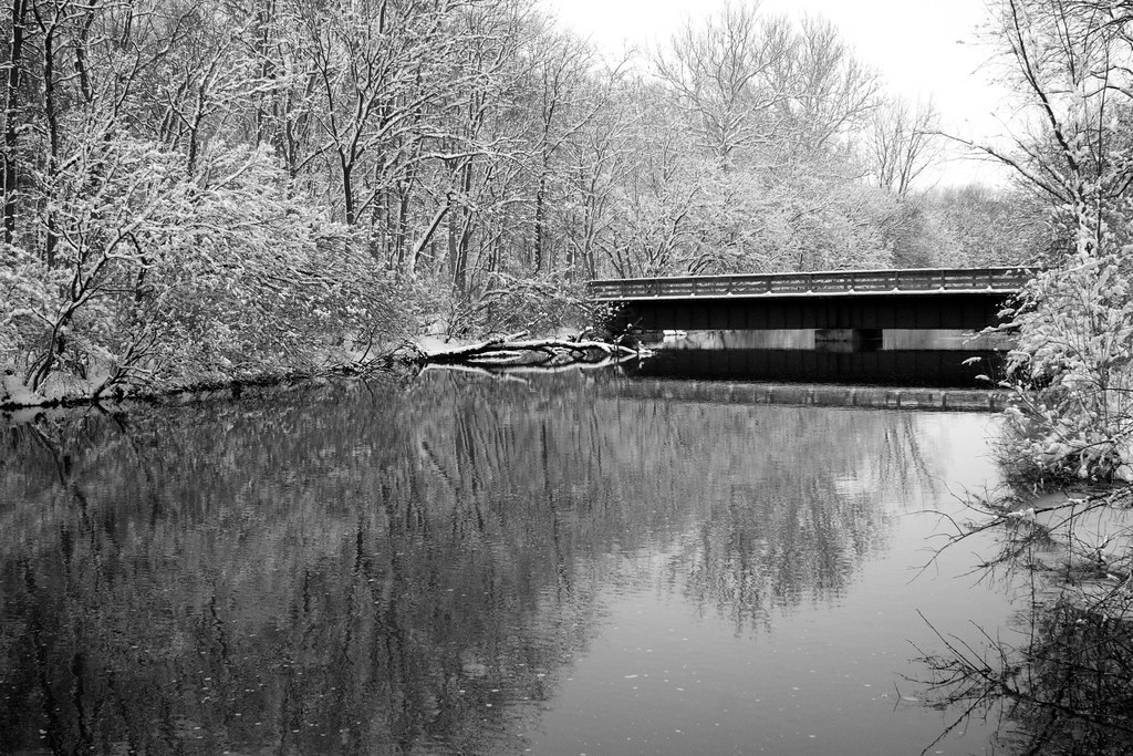 Leffels Creek in Winter