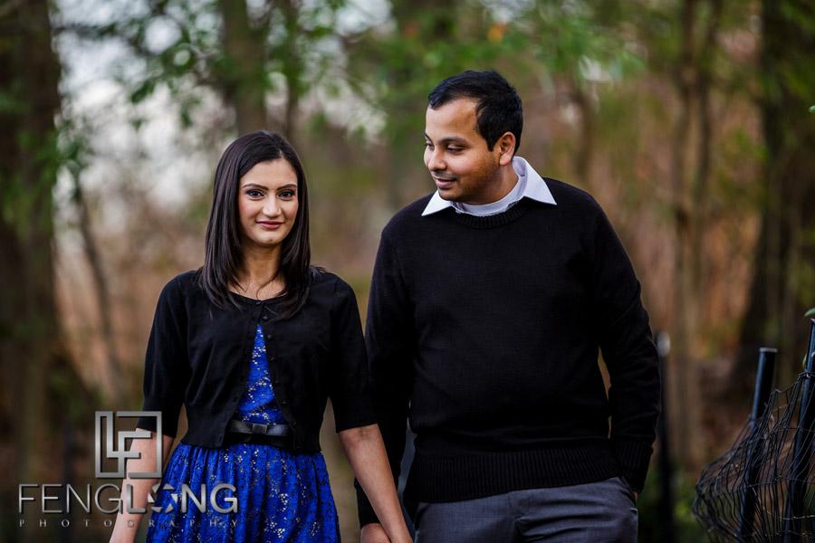 N & K Engagement Session | Piedmont Park | Atlanta Indian Wedding Photography