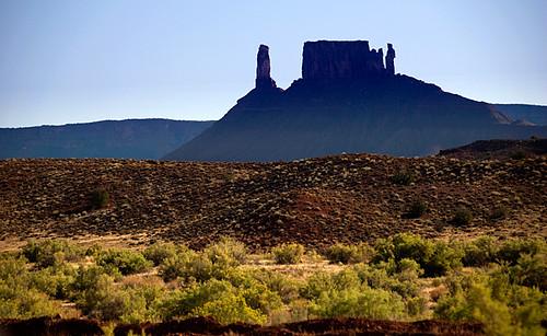 tablelands near Moab, USA