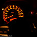 Honda Speedometer dial in lowlight