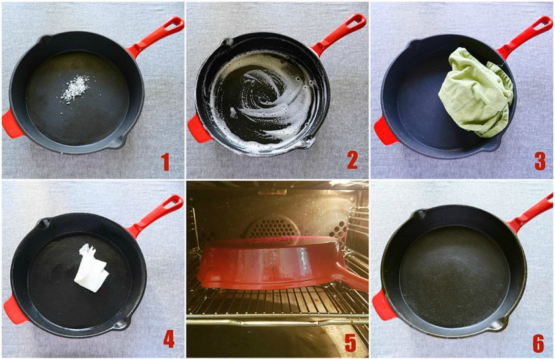 Seasoning Cast Iron Pan