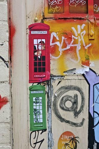 Phone Box Paste Ups