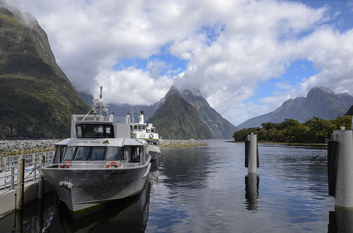 Milford Sound boats for Cruises