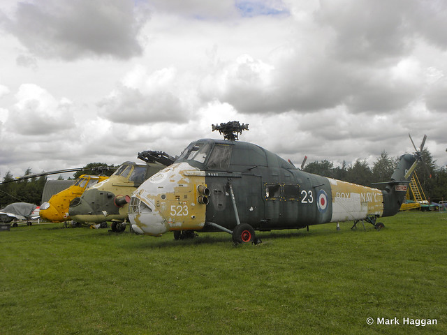 Helicopters at Donington AeroPark