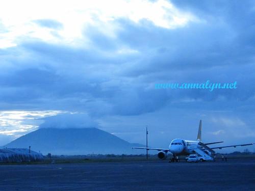 Mt. Arayat in the background
