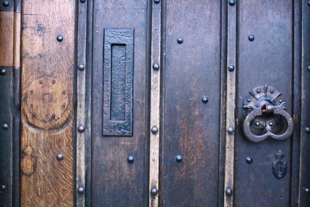 wood door detail oxford