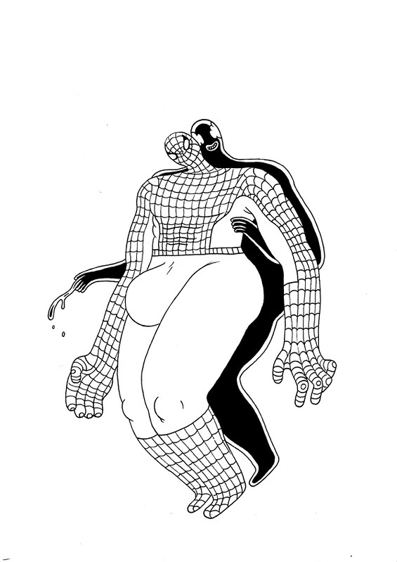 "DWA 2013 Art Auction: ""Venom"" by Michael Deforge"