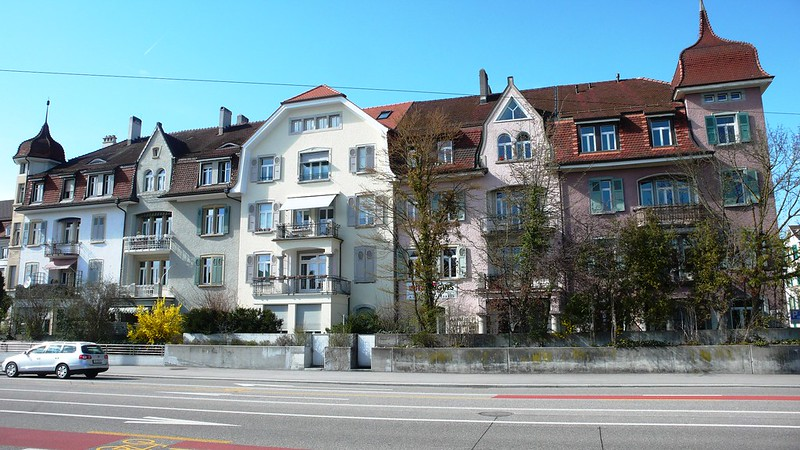 Train Departure Solothurn Main Station