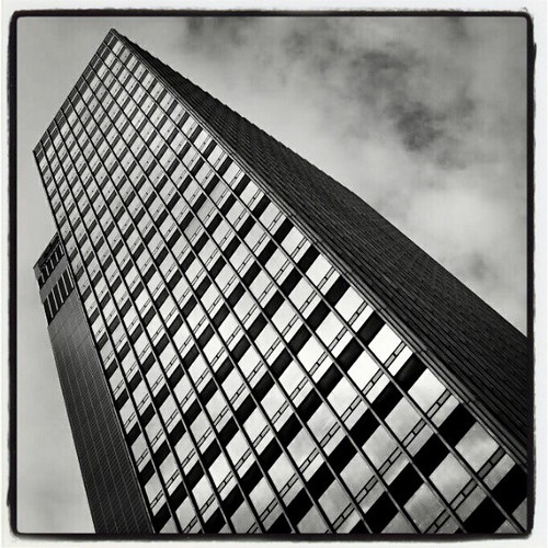 Skyscraper Manchester 02 by Angela Seager