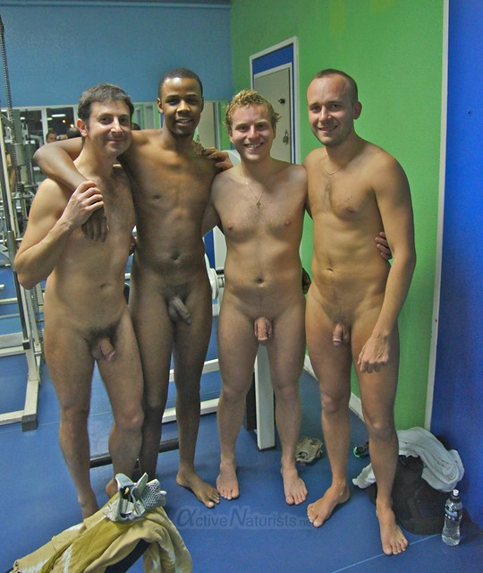 naturist 0002 Gym of Association Naturiste de Paris, Paris, France