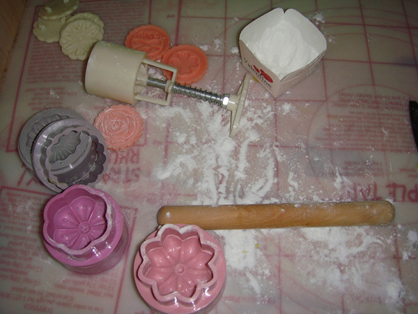 snow skin moon cake