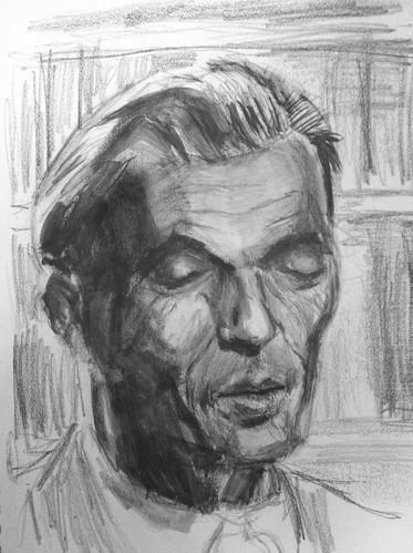 Aldous Huxley by husdant