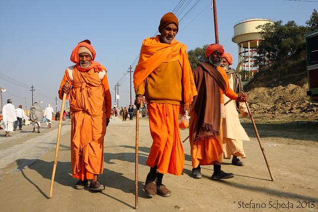 Pilgrims at Kumbh Mela - Allahabad, India