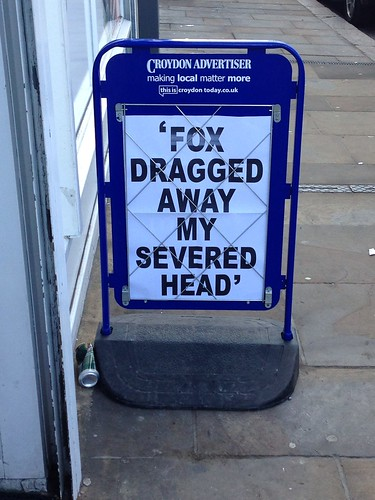 Headline of the week by Simon Sharville