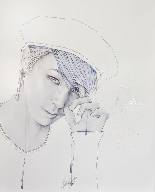 Why So Serious? /Key (fanart)
