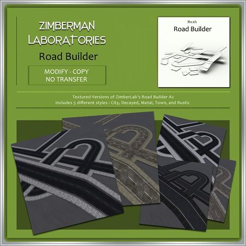 ZimberLab Textured Roads A2 @ The Deck