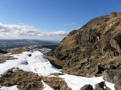 Snow drift and crag I