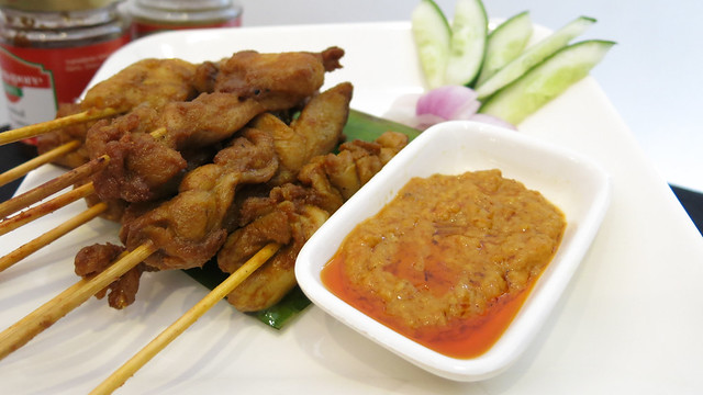 Satay Chicken at Singapore Food Street