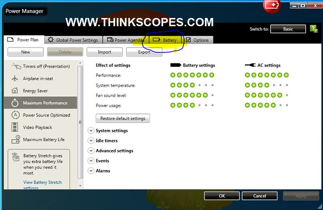 Battery Reset Procedure for ThinkPad – ThinkScopes