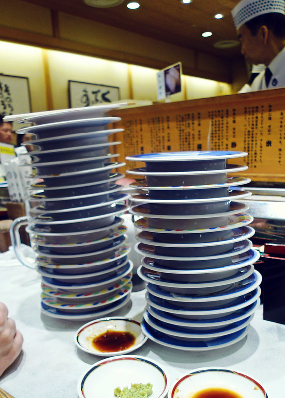 We had 34 plates in total!