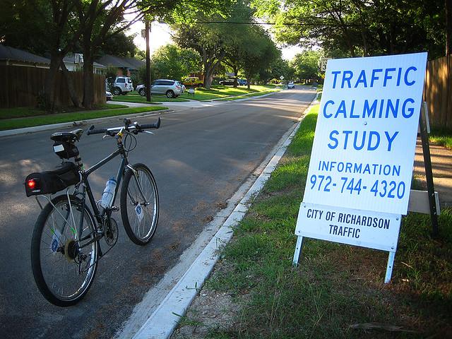 Traffic Calming Study Richardson