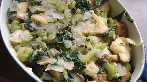 Mushroom Spinach Stuffing 25