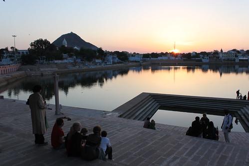 IMG_0744-Pushkar-sunset