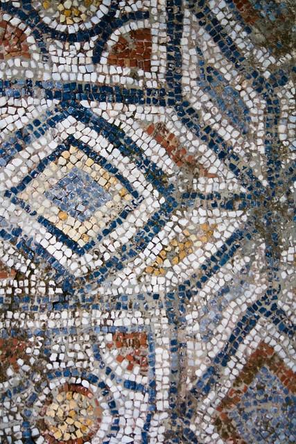 delicious mosaic floor!