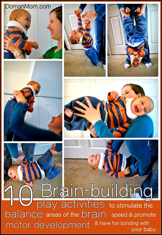 10 fun & brain-building balance stimulation activities for your baby that encourages brain development, physical skills, and parental bonding.